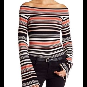 Free People Portland striped top